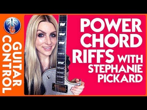 Power Chord Riffs with Stephanie Pickard (pt 1) | Guitar Control