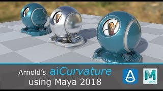 Intro to Arnold's AiCurvature Node in Maya 2018