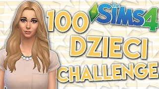 THE SIMS 4 CHALLENGE 100 DZIECI #142 IMPREZA
