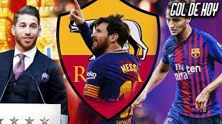 La ROMA quiere a Messi I Doble fichaje en duda para el Barca I Ramos habla sobre Solari-Isco