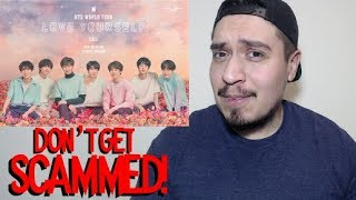 HOW TO GET TICKETS TO BTS LOVE YOURSELF WORLD TOUR