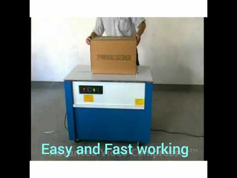 High Desk Semi Automatic Box Strapping Machine  Model KZ-900