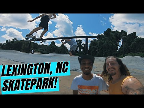Amazing New Skatepark in NC! | Lexington, NC Skatepark