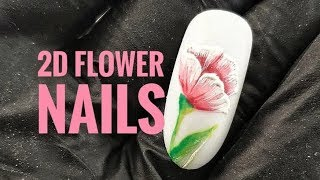 💅💅 :: 2D Flower Nails :: 💅💅 Nailart By Natalia
