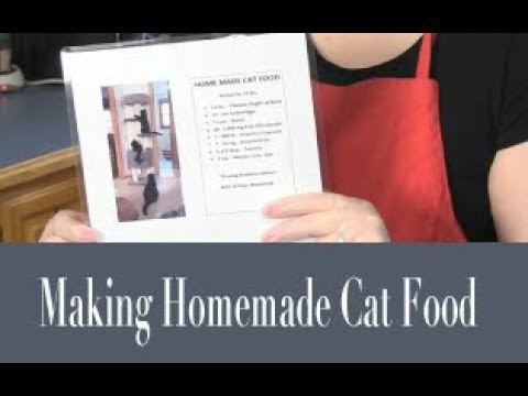 Purr View TV Show: Full Ep 005 'Making Homemade Cat Food'