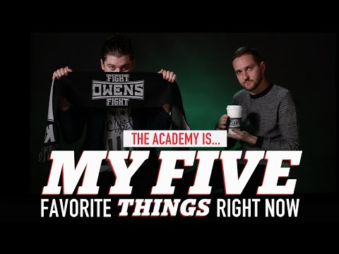 Five Favorites: THE ACADEMY IS...