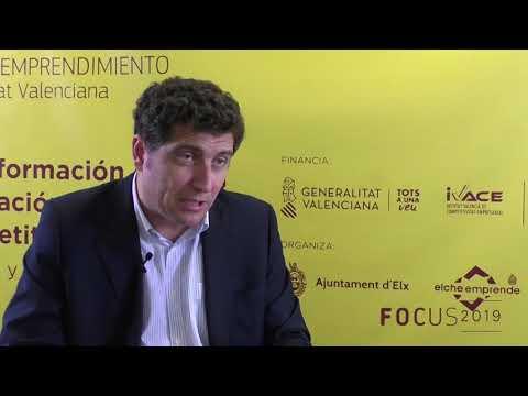 Nacho Mas de la Asociación Valenciana de Startups en Focus Pyme CV 2019
