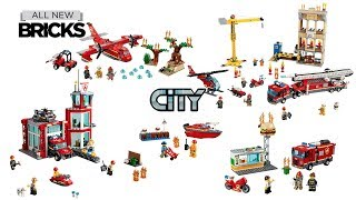 Lego City Fire Compilation Of Fire Rescue Sets