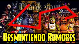 """Desmintiendo Rumores Falsos De Five Nights At Freddy's 4 Teaser """"Thank You""""   FNAF 4"""