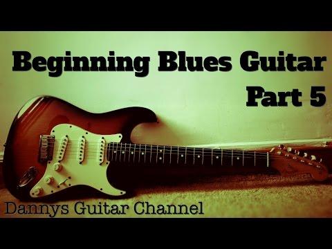 Beginning Blues Guitar Part 5 - Rhythm Guitar Lesson -12 Bar Blues Chord Shuffle