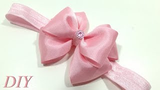 How To Make Hair Bows 🎀 DIY #206 Baby Headband Tutorial