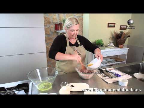 Bizcocho de chocolate y nueces - La Cocina de mi Abuela