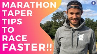MARATHON TAPER TIPS - Quick and EASY TIPS to get you a PB!