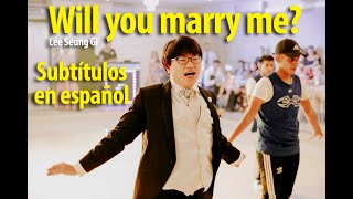 "Coreano bailando ""Will you marry me?"" - Lee Seung Gi (subtítulos en español)"