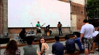 Young Black Lady Bear at Providence Hoot Part 2 (Grant's Block 6-8-2014)