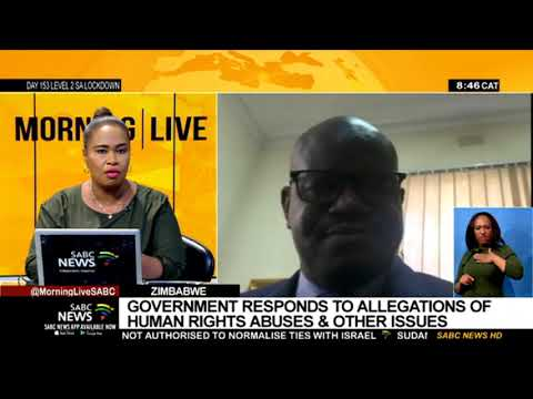 Nick Mangwana denies there are human rights violations in Zimbabwe – VIDEO