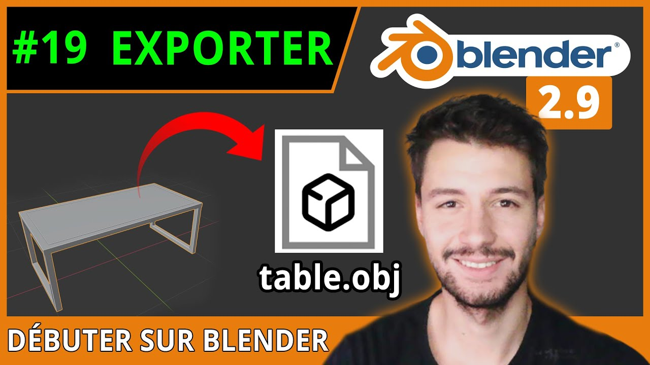 #19 | EXPORTER VOS OBJETS [TP n°1]  - Débuter sur Blender [TUTO FR]