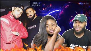 Chris Brown - No Guidance (Audio) ft. Drake | REACTION!!!