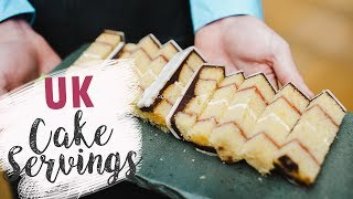 How to Cut UK Cake Servings | How To | Cherry Basics