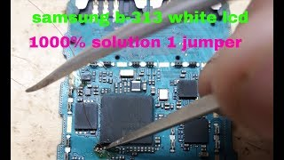 samsung b313ed display white solution - ฟรีวิดีโอออนไลน์