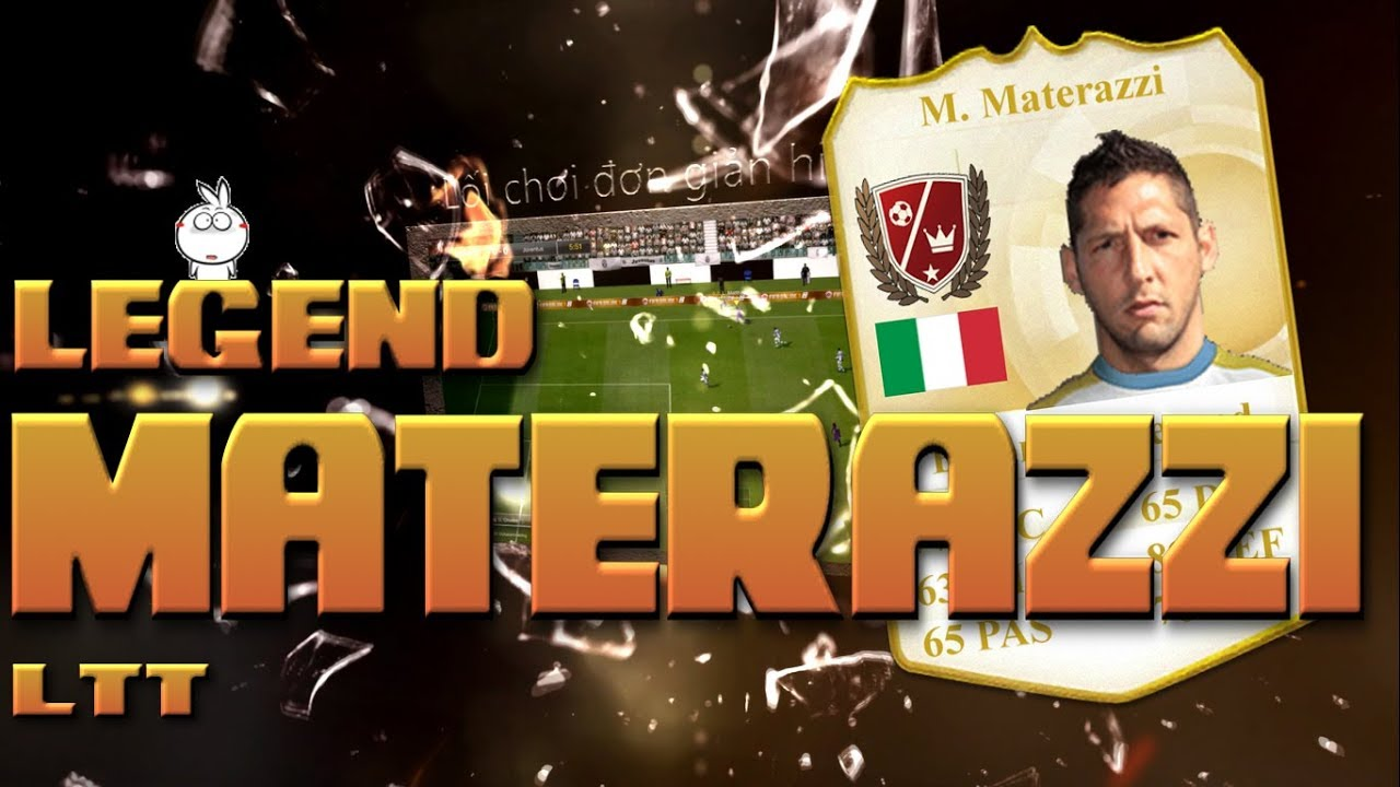 Kênh LTT | Review Marco Materazzi Euro Legend - FIFA Online 3 Việt