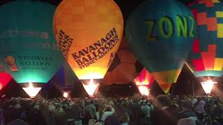 National Ballooning Championships| Northam Balloon Glow 2017