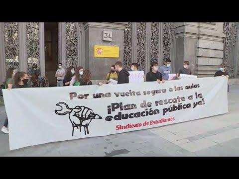 Ισπανία: Τριήμερη απεργία των μαθητών με αίτημα ασφαλείς τάξεις ενάντια στον Κορονοϊό