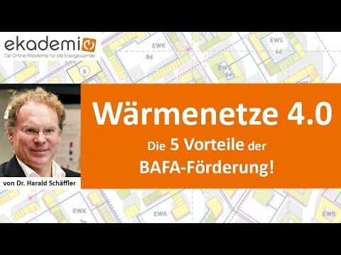 Wärmenetze 4.0: Die 5 Vorteile der BAFA-Förderung