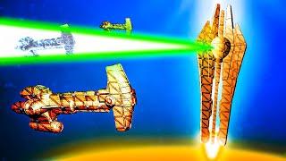 STAR FORGE SUPER LASER Destroys The Hammerhead Cruiser Fleet In Forts Star Wars!