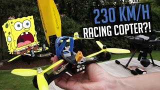 Ideafly Grasshopper F210 - 230km/h Racing Drohne?!