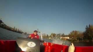 preview picture of video 'Vodní záchranná služba ATMS - výcvik na volné vodě; VZS (28.10.2014)'