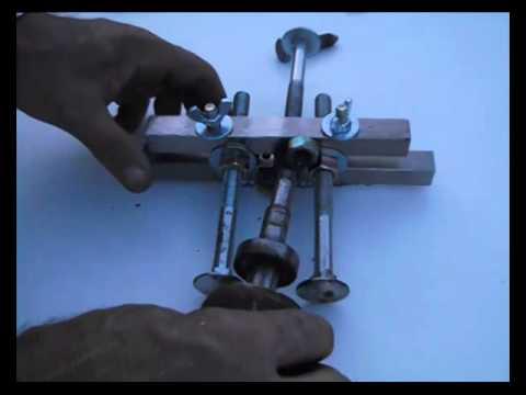 Extractor de cojinetes o rodamientos, casero