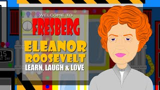 Have Fun With Eleanor Roosevelt! Watch This Eleanor Roosevelt Cartoon For Kids