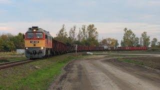 preview picture of video 'Szergej csak jön / Taigatrommel mit Güterzug'