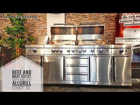 1. Test Allgrill Chef XL von Beef and Meat