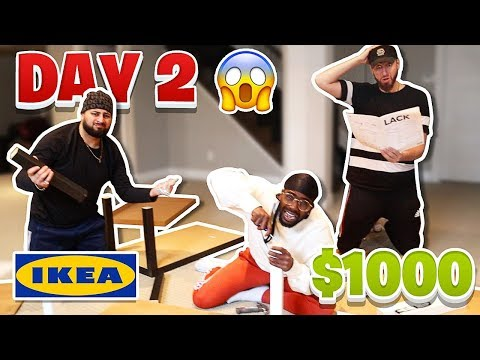 Last To Stop Building IKEA Furniture - Wins $1000