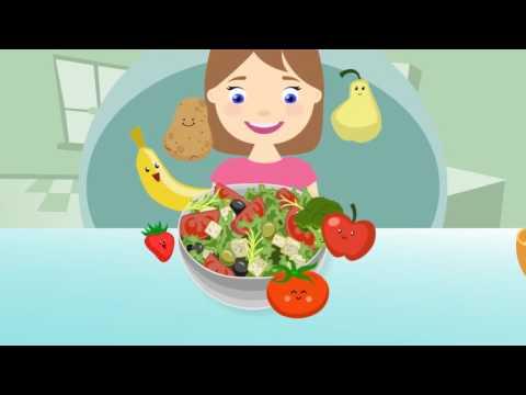 Sveikos mitybos lėkštė
