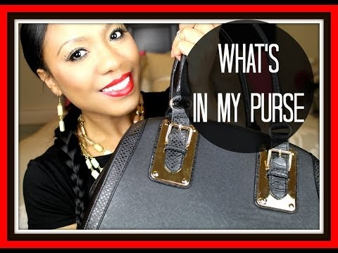 What's In My Purse 2014 | Michael Kors Jet Set Wallet Review