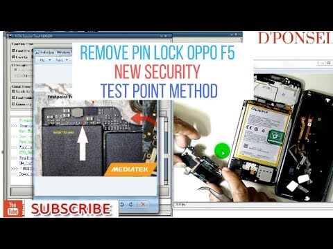 OPPO F5 (CPH-1723) Pattern Lock Remove Done By MRT Crack V2