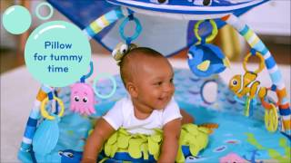 Smyths Toys - Disney Baby Finding Nemo Mr. Ray Ocean and Lights Gym