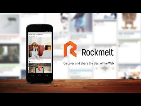 RockMelt For Android App Review – Best of The Web & News