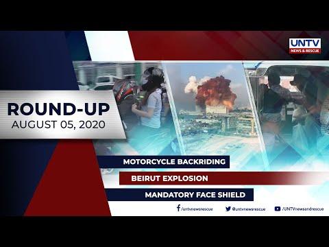 [UNTV]  UNTV NEWS ROUNDUP: Mga balitang dapat mong malaman (August 5, 2020)
