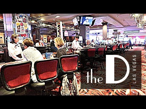 Exploring the D Hotel & Casino on Fremont Street 2018!