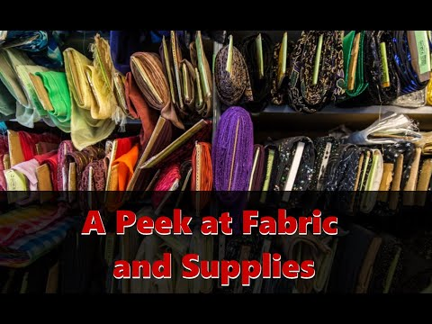 A Peek at our Fabric and Sewing Supplies