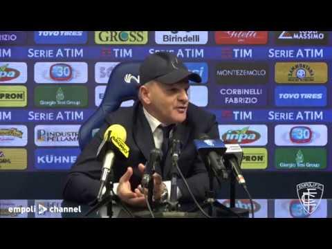 Preview video Le parole di mister Iachini al termine di Empoli-Sampdoria