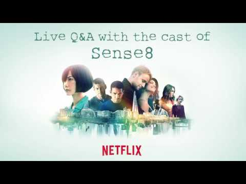 Sense8 Facebook Live interview with Lana and the cast