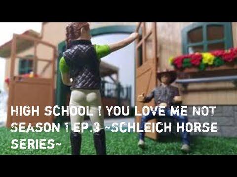 High school ! You love me NOT Season 1 ep.3 ,Schleich Horse Series, kristina kashytska