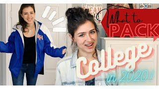 50 ITEMS To Bring To COLLEGE 2020!!!! What To Pack During Quarantine...