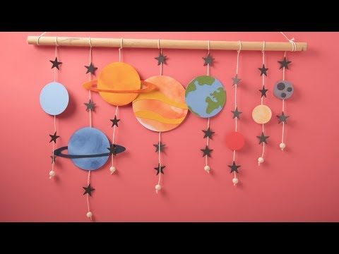 Create Your Own Space Mobile - Ellison Education