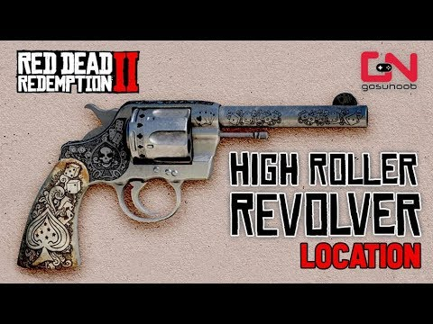 RDR2 Online - How To Get The RARE High Roller Revolver for